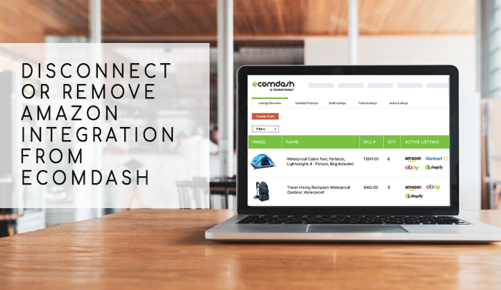 Disconnect or Remove Amazon Integration from Ecomdash