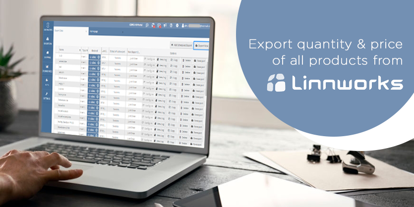 Export Quantity and Price of All Products from Linnworks